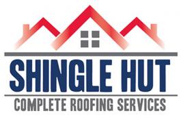 Shingle Hut Roofing Logo
